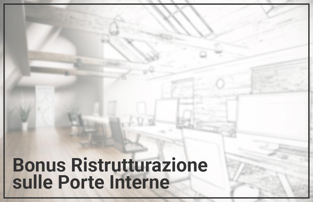 Bonus Porte Interne 2018 bonus ristrutturazione casa | micheloni porte